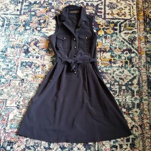 The Limited Navy Cocktail Dress